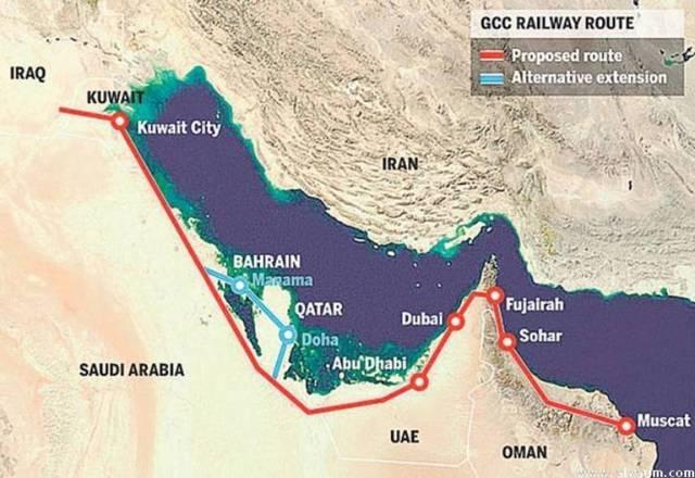 La construction du chemin de fer trans-arabique par la Russie rendra les Saoudiens plus multipolaires