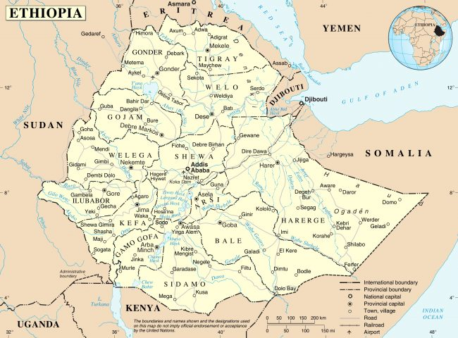 C'est malgré tout une bonne idée pour l'Éthiopie enclavée de se construire une marine