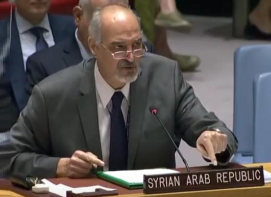 Bachar al-Jaafari : Ceux qui disent qu'Idleb est effectivement une zone de désescalade ne savent pas de quoi ils parlent !