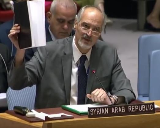 Bachar al-Jaafari : Celui qui s'est battu contre le terrorisme à votre place ne cèdera pas à vos menaces...