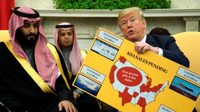 Chamailleries Trump-MbS, signe et style des temps