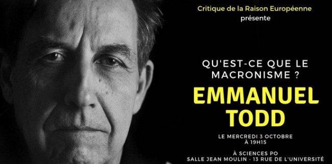Emmanuel Todd – Qu'est-ce que le macronisme ?