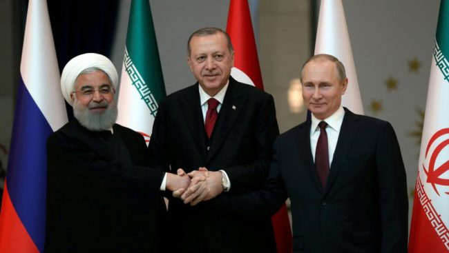 Pourquoi la Turquie se tourne vers l'Iran et la Russie