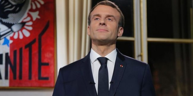 Emmanuel Macron, Président du « parti de l'ordre »