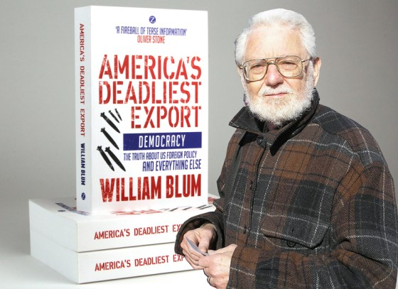 William Blum, célèbre critique de la politique étrangère des États Unis, est mort à 85 ans