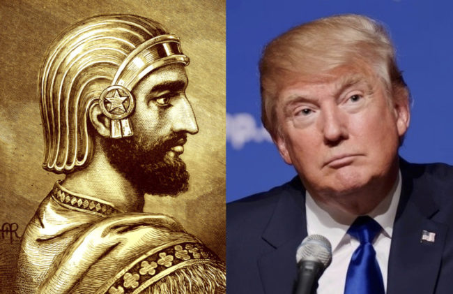L'emprise évangéliste sur l'administration Trump