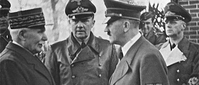 Pour un installer le Nouveau monde, effaçons le Front Popu, la Résistance le CNR : buvons de l'eau de Vichy