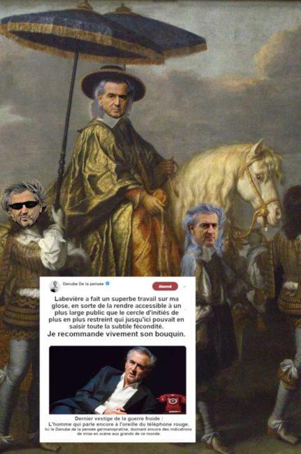 Vient de paraître : Bernard-Henri Lévy ou la Règle du JE*