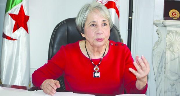 Saida Benhabyles, une patriote dévouée à la cause humanitaire et les causes justes