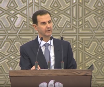 Bachar al-Assad : « La Palestine reste notre cause et le Golan reste dans le cœur de tout Syrien honnête »
