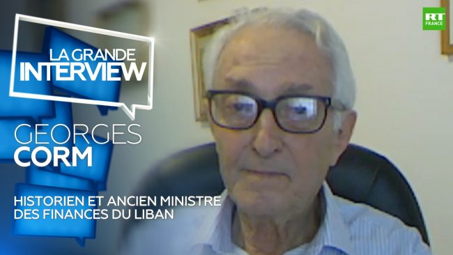 Georges Corm à RT : « Le Liban est-il au bord de l'effondrement ?» VIDEO