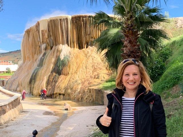 Karen Rose, épouse de l'ambassadeur des USA, parle de la beauté de l'Algérie au site touristique VVA
