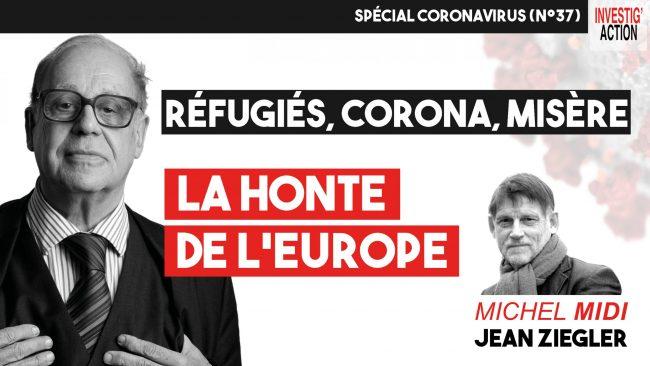 Jean Ziegler interviewé par Michel Collon sur son dernier livre « Lesbos, honte de l'Europe »