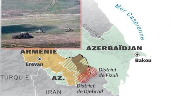 Caucase embrasé : l'Iran, visé ?