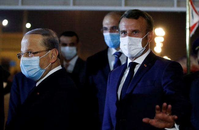 Coup de gueule Le président libanais exige la formation, à Paris, d'un «gouvernement de mission»