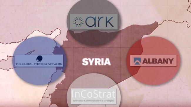 REVELATIONS : Comment les gouvernements occidentaux ont financé un important réseau de propagande en faveur d'une opposition syrienne qu'ils ont créée de toutes pièces…