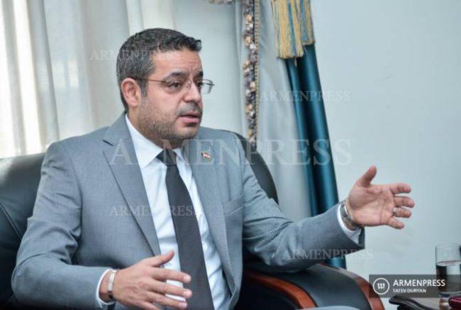 La Syrie solidaire de l'Arménie et condamne toute attaque contre le territoires arménien (Ambassadeur)