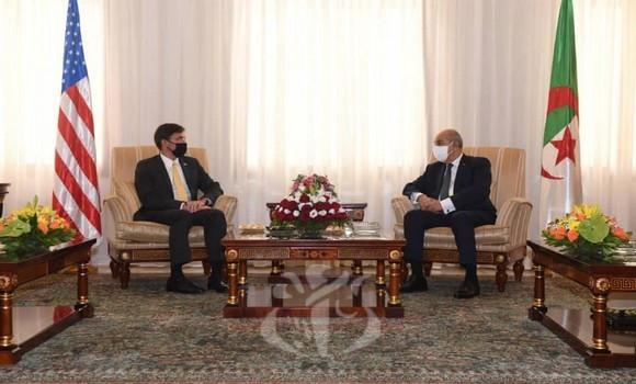 Les États-Unis veulent renforcer leur coopération militaire avec l'Algérie (Esper)