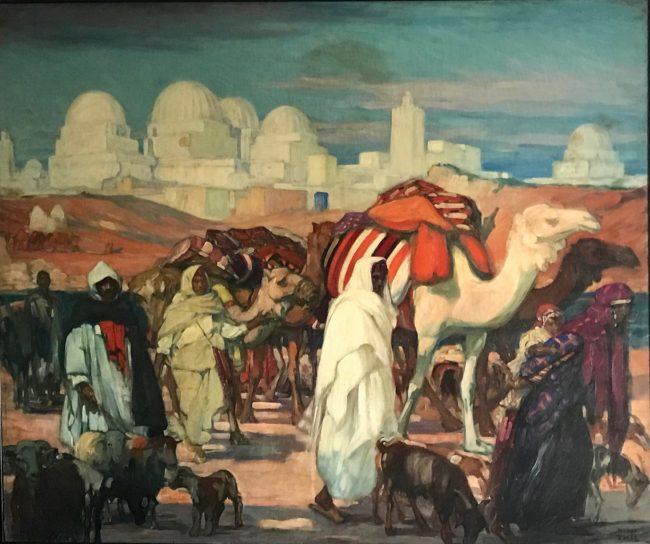 « Peintures des lointains. Voyages de Jeanne Thil»