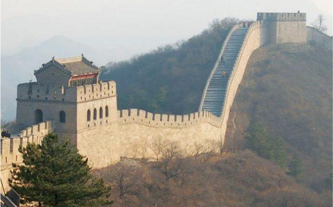 COMMENT LES CHINOIS ONT AGRANDI LA GRANDE MURAILLE
