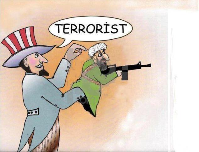 «Lutter contre l'islamisme radical»,«combattre le terrorisme» … bla-bla-bla ...