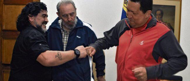 Maradona et le chavisme