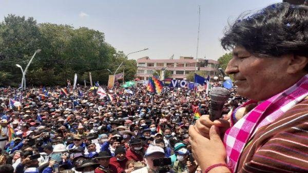 Evo Morales rentre en Bolivie, Trump chassé de la Maison Blanche
