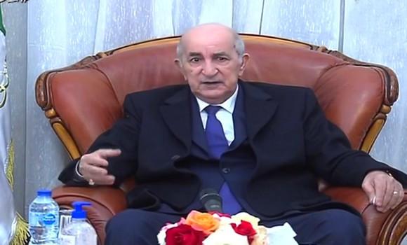 Le Président Abdelmadjid Tebboune regagne Alger