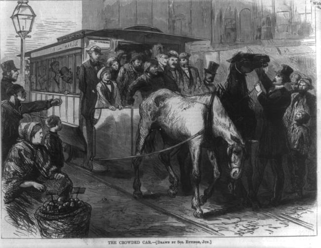 En 1872, le virus de la grippe a paralysé l'économie américaine en infectant les chevaux