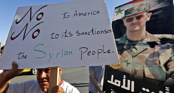 Appel aux présidents Joe Biden et Emmanuel Macron : mettez fin aux sanctions qui affament les civils syriens