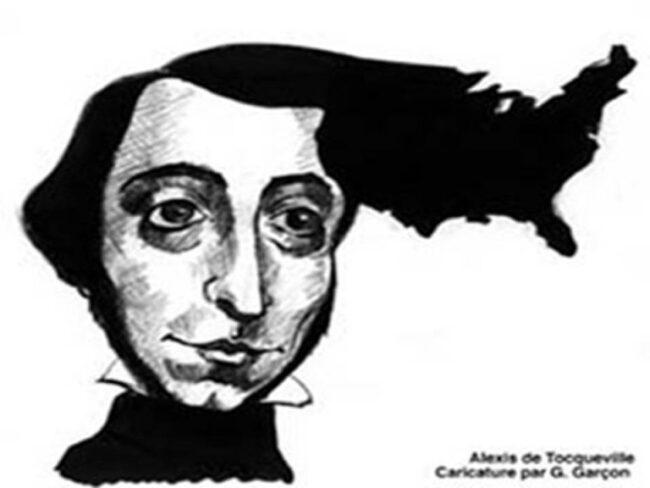 Alexis de Tocqueville, en 1837, dessinait les contours de l'actuelle«démocrature»