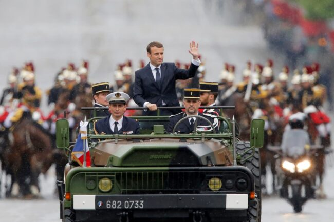 Macron : portrait d'une autre mythologie