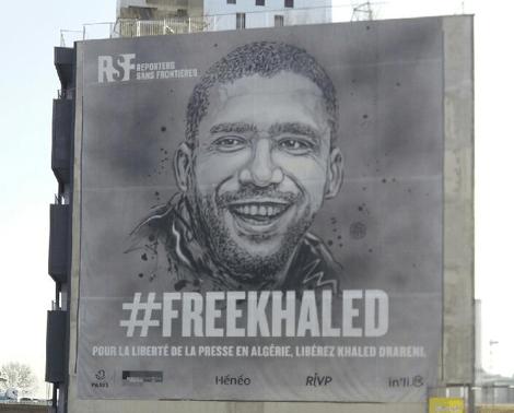 K. Drareni détenu d'opinion de RSF (Reporter avec Frontières)