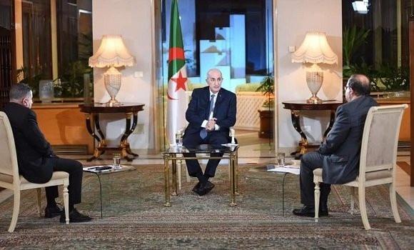 Le Président Tebboune :l'armée algérienne « ne sera pas envoyée à l'étranger »