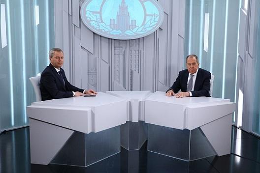 Interview de Sergueï Lavrov à RBC