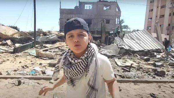 MC Abdul le petit rappeur de Gaza parle au monde entier avec le soutien de musiciens irlandais