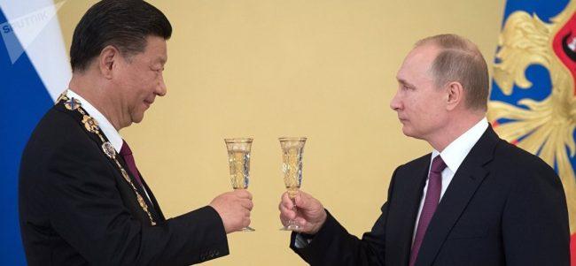La Chine et la Russie lancent une « économie mondiale de la résistance ».