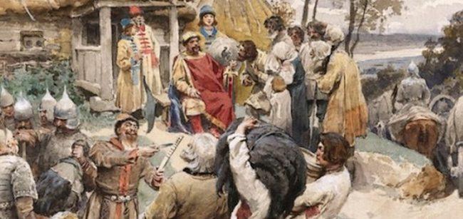 Poutine, les croisés et les barbares