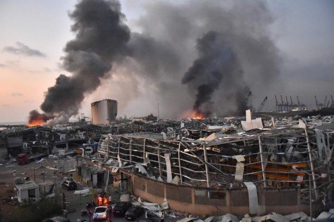 -Un an après la catastrophe de la double explosion du port qui a détruit une partie de Beyrouth, l'enquête, très politisée, piétine toujours…Photo DR