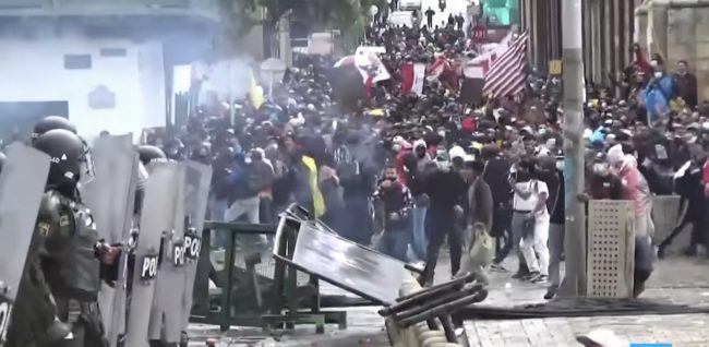 Colombie : Le gouvernement s'appuie sur la force brute pour rester au pouvoir