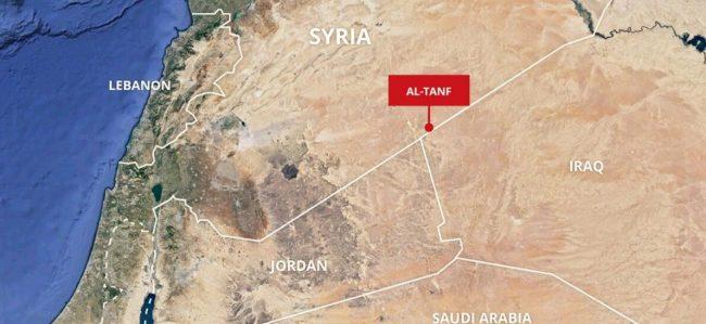 Ça se réchauffe dans le désert syrien